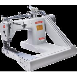Bruce BRC-9270-12-2PS Промышленная двухигольная швейная машина с П-образной платформой