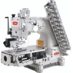 BRUCE BRC-009VCDI-08064P 8-игольная машина цепного стежка с зубчатым пуллером