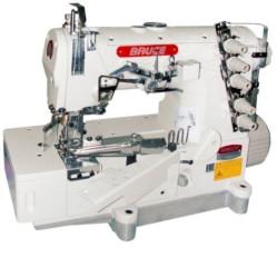 Bruce BRC-562-02BB Универсальная промышленная распошивальная машина под окантовку и подгибку