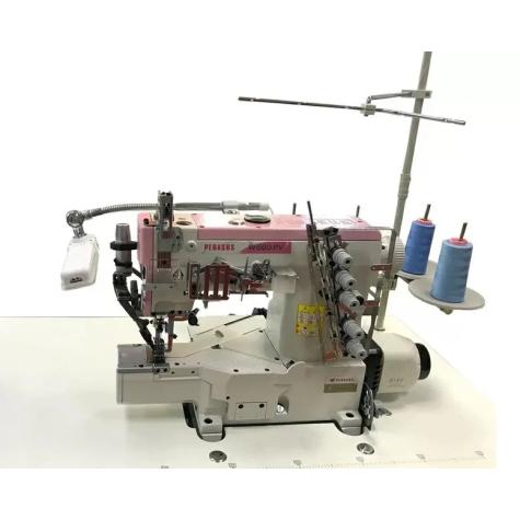 Плоскошовная машина с цилиндрической платформой Pegasus W662PVH-01Gx356BS\DINO-928