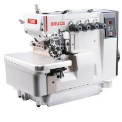 Bruce X5-4-M03/333 Промышленный 4х ниточный оверлок с прямым приводом