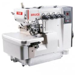 BRUCE X5S-4-MO3/333 Высокоскоростной 4-ниточный промышленный оверлок с быстрой регулировкой зубьев по высоте  width=