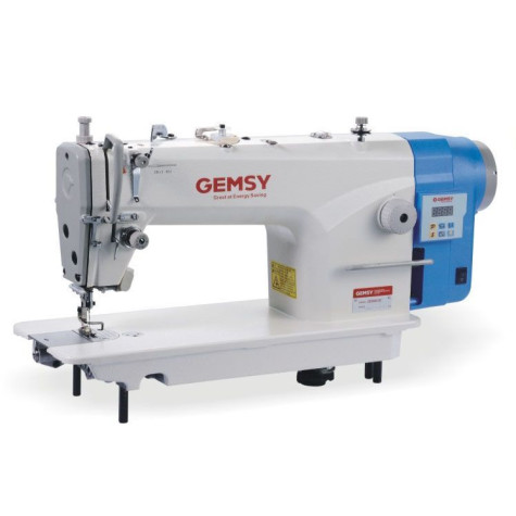 Gemsy GEM8801E1 одноигольная машина для легких тканей с прямым приводом и обрезкой нити