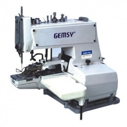 Gemsy GEM373 пуговичный полуавтомат цепного стежка width=