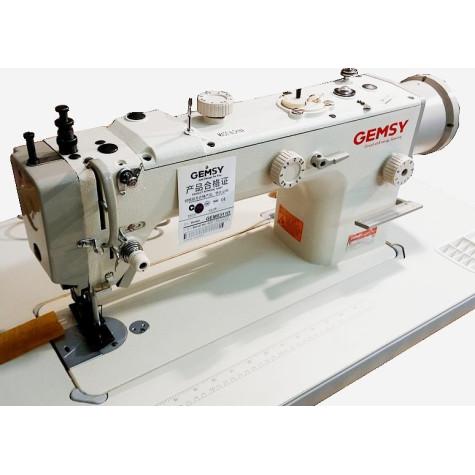 """Промышленная швейная машина с шагающей лапкой и """"перетопом"""" Gemsy GEM0311D"""