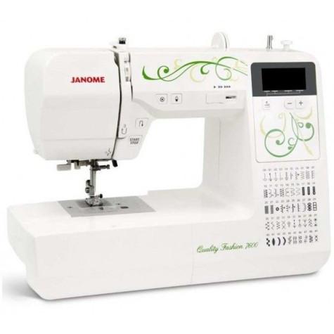 Бытовая швейная машинка Janome Fashion Quality 7600