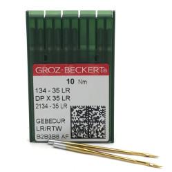 Игла Groz-Beckert 134-35LR GEBEDUR позолоченная для колонковых машин 10 шт/уп width=