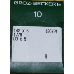 Игла Groz-Beckert 142x5, 1778, DOx5 10 шт/уп width=