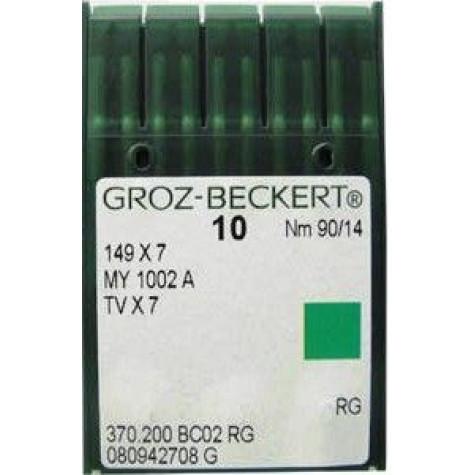 Игла Groz-Beckert 149x7, MY1002A, TVx7 для цепного стежка 10 шт/уп