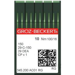 Игла Groz-Beckert 150, 29-C-150, 29DEA, CPx1 для имитации ручного стежка 10  шт/уп width=