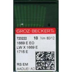 Игла Groz-Beckert 1669E EO/1715E/LWX1669E Упаковка 10шт width=