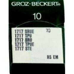 Игла Groz-Beckert 1717 SRUE, 1717 TPU для подшивочной машины в упаковке 10 шт. width=