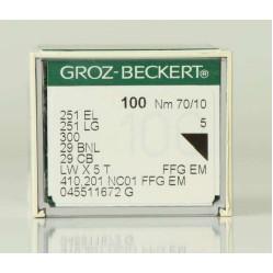 Игла Groz-Beckert 251EL/251LG/300/29BNL Упаковка 10шт width=
