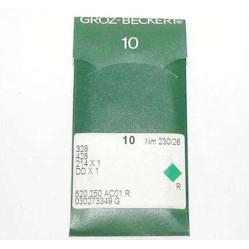 Игла Groz-Beckert 328, 214x1, DDx1 для мокасинной машины 10 шт/уп width=