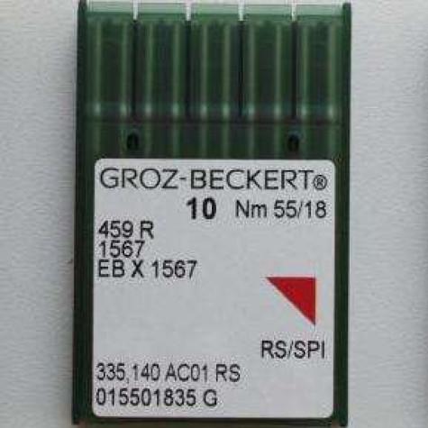 Игла Groz-Beckert 459R, 1567, EBx1567 №60 для скорняжной машины 10 шт/уп