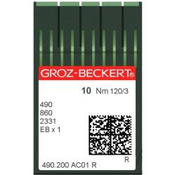 Игла Groz-Beckert 490/860/2331/EBX1 Упаковка 10шт width=