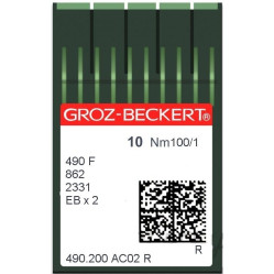 Игла Groz-Beckert 490 FR/490F/862/2331 F Упаковка 10шт width=