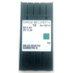 Игла Groz-Beckert 62x43, DVx43 №75 в упаковке 10 шт width=
