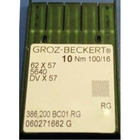Игла Groz-Beckert 62x57, 5640, DVx57 для многоигольных машин 10 шт/уп