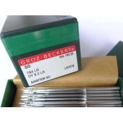 Игла Groz-Beckert 794LR, DYx2LR №200 для кожи на экстра тяжелые машины 10 шт/уп width=