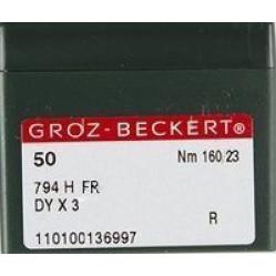 Игла Groz-Beckert 794H FR на экстра тяжелые машины 10 шт/уп width=