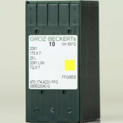 Игла Groz-Beckert 2091, 175x7, 29L, TQx7 для пришивания пуговиц на ножке 10 шт/уп width=