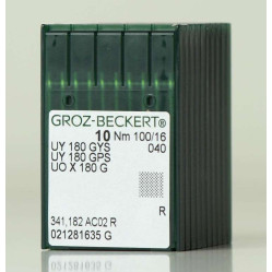 Игла Groz-Beckert UY180GWS, UY180GKS №140 в упаковке 10 шт. width=