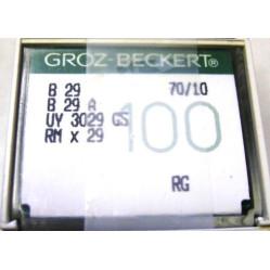 Игла Groz-Beckert B29, B29A, UY3029GS, RMx29 оверлочная в упаковке 10 шт width=