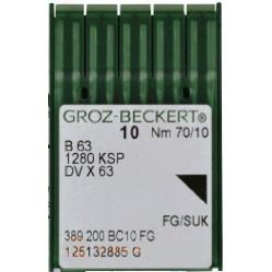 Игла Groz-Beckert B63/1280KSP/DVx63 FG Упаковка 10шт width=