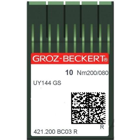 Игла Groz-Beckert UY144GS №200 в упаковке 10 шт