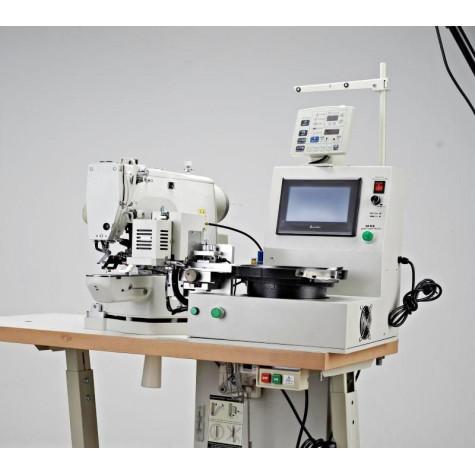 Index 480SK-S/L/B Автоматическая пуговичная машина с бункером для подачи пуговиц