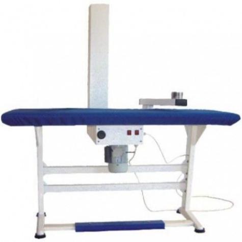 Стол гладильный Индекс ПГУ-2-111Т (4UT/K) с одной подушкой и трубой для вывода пара