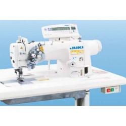 Juki LH-3588GF Двухигольная промышленная швейная машина с увеличенными челноками и отключением игл