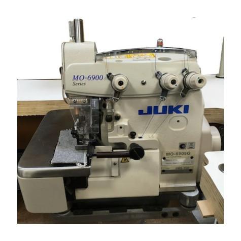 1-игольный трехниточный оверлок для очень тяжелых материалов Juki MO-6905G-0M6-700