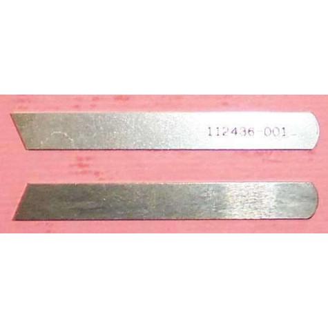 Нож нижний 112436-001, (155193-001) Brother