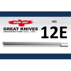 Лезвие прямое 12E-HSS Golden Eagle на сабельный нож  width=