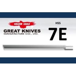 Лезвие прямое 7E-HSS Golden Eagle на сабельный нож width=