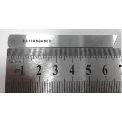 Нож нижний  B4118-804-000 Juki MO-1014