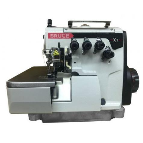 Промышленный 4-х ниточный высокоскоростной оверлок BRUCE BRC-X3-4-M2-24