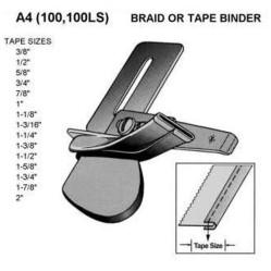 A4 Окантователь приставной для одинарной подгибки заглаженной бейки width=
