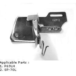 KHF13 Приспособление для вшивания канта с наполнителем на прямострочной машине width=