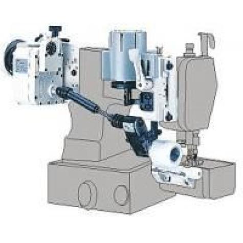 Устройство для продвижения материала (пуллер) Racing PL-S2 для плоскошовных машин с цилиндрической платформой