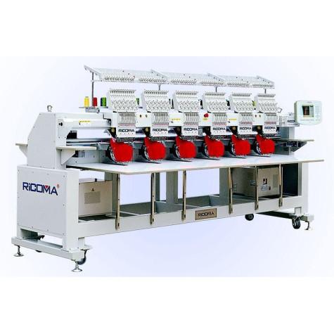 Ricoma RCM-1206CHT2 12-игольная 6-головочная вышивальная машина для головных уборов