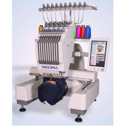 Ricoma EM-1010 одноголовочная 10-игольная вышивальная машина width=