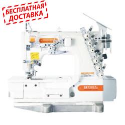 Siruba F007K-W922-464/FW-5 Плоскошовная шестиниточная швейная машина (распошивалка, флет-лок)