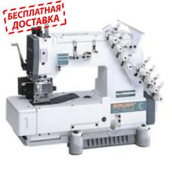 Siruba HF008-03064P/HTF Трехигольная машина цепного стежка для бокового шва и задним пуллером
