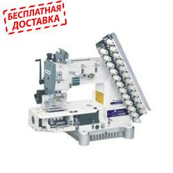 Siruba VC008-12064P Двенадцатиигольная машина цепного стежка с цилиндрической платформой