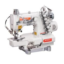 Siruba C007KD-W122-356/CH/UTP/CL распошивальная машина с цилиндрической платформой и пневмообрезкой нитей width=