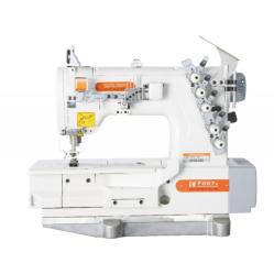 Siruba F007K-W162-364/FHA плоскошовная швейная машина (распошивалка) с высоким подъемом лапки и устройством для подгибки width=
