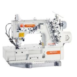 Siruba F007KD-W122-356/FHA/UTG Плоскошовная швейная машина со встроенным сервомотором и электромагнитной обрезкой нитей width=